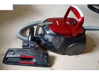 Samsung VCDC15RH Bagless Cylinder Vacuum Cleaner, Light, Powerful, Handset Control