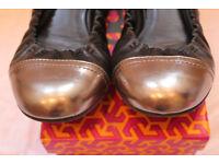 Tory Burch shoes - Abbey Mestico/Metallic - size 6.5 (UK) but 6 (UK) fit best
