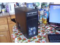 Custom Gaming PC AMD A6-5400K 3.6GHz 4GB RAM 250GB HDD Windows 10 Pro 64 bit Radeon Graphics