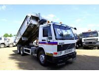1997 VOLVO FL7 TIPPER TRUCK PERFECT FOR EXPORT DAF TIPPER SCANIA TIPEPR MAN TIPPER