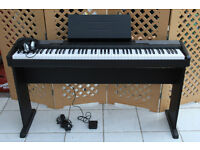 Casio CDP-100 full size 88 key Digital piano for sale, in perfect condition.