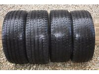 235/45/18 4x Winter tyres. Kumho I'zen KW27. CHEAP! One new tyre cost £160!! 235 55 R18 98V XL