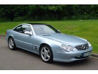 Mercedes R129 SL500. Left Hand Drive. Rare Spec Full R230 SL AMG Conversion Carried Out By VH Tuning