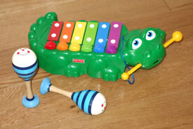 Musical pull-along Crocodile Xylophone (Fisher Price)