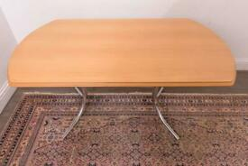 Marcel Breuer Cesca Cantilever Style Dining or Kitchen Table
