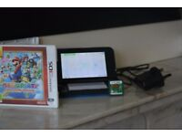 Nintendo 3ds XL Pokemon X and Y Limited Edition with 2 Games and a Charger
