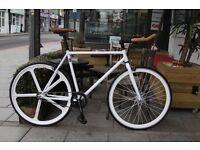 GOKU CYCLES Steel Frame Single speed road bike TRACK bike fixed gear fixie racing bike CXS