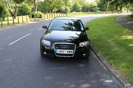 Audi A3 2.0 TDI Quattro Black 5 Door