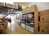 Warehouse assistant & Courier needed for a London coffee company