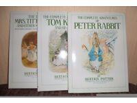Beatrix Potter books set of 3