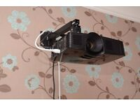 Optoma HD141x Home Cinema Projector with Wall Mount - Native 1080p and Very Bright!