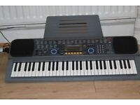 CASIO CTK-601/61KEYS/MID/PITCHBEND/TOUCHRESPONCE IDEALFOR BEGINNER