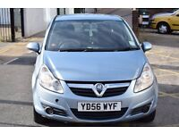 2007 56 PLATE VAUXHALL CORSA LIFE 1.0 PETROL,LOW MILEAGE,NEW MOT,NEW HEDGES KIT AND TIMING CHAIN KIT