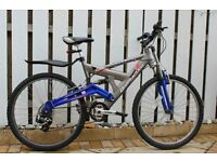Baracuda full suspension mountain bike