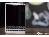 Unlocked Blackberry Passport Q30 Silver Edition