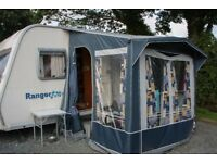 Excellent Lightweight Bailey Ranger 460/4 Caravan with Extras