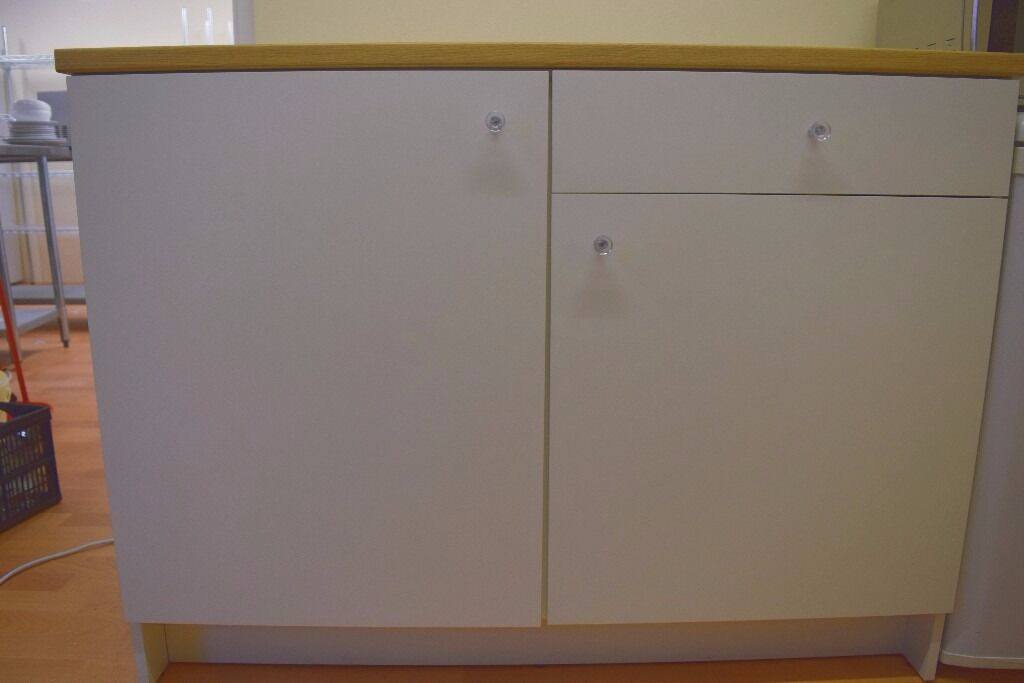 ikea knoxhult kitchen unit cupboard with worktop in. Black Bedroom Furniture Sets. Home Design Ideas
