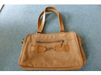 Leather & Suede Handbag vgc great for ipad