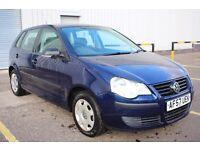 2007 57 Volkswagen Polo E70 1.2 5dr,56000 miles,FSH,Timing chain engine,2 keys