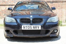 BMW 525 D M SPORT 2005 SPYDER ALLOYS