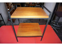 Small Retro 1970s Teak Stand / side table - delivery possible central Edinburgh