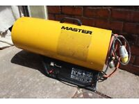 Master Space Gas Heater 73kW 110V