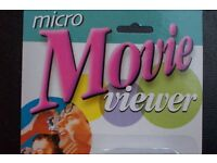 RARE MOVIE VIEWER WITH CONTINUOUS RUN FILM LOOP