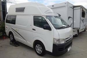 2009 Talvor Toyota Hiace Hitop Camper Taren Point Sutherland Area Preview