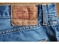 """Levi 508 Vintage Jeans 34"""" in really good condition"""