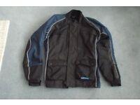 Frank Thomas unisex small textile motorbike jacket