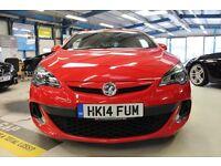 Vauxhall Astra GTC Turbo 16v VXR (power red) 2014