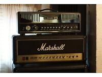 MARSHALL JCM2000 DSL VALVE 50W HEAD & MARSHALL CAB 2 X 15