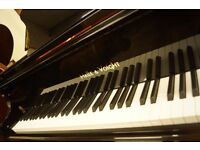 Brand new baby grand piano. free uk delivery. free stool.