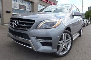 2012 Mercedes-Benz M-Class ML 550 4MATIC, AMG Pkg, Panoramic,