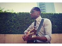 Professional Event Singer/Guitarist