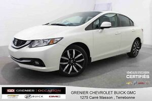 2013 Honda CIVIC Touring *GPS + CUIR + TOIT OUVRANT*