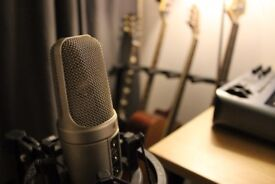 Guitar lessons in East London....fully equipped studio, experienced teacher, affordable