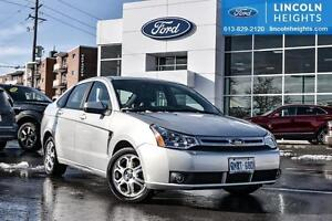 2008 Ford Focus SES - LEATHER - BLUETOOTH - HEATED FRONT SEATS -