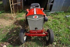 Garden Tractor Simplicity 1966 Rideon Harristown Toowoomba City Preview