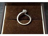 White Gold 1/2 Carat diamond ring