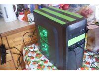 New Custom Quad Core Gaming / Photo Editing PC A8-7650K 16GB RAM 3TB Radeon R7 4GB Dual Graphics