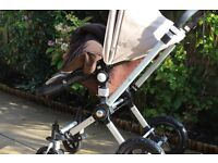 Bugaboo cameleon 2 and accessories -pram and pushchair combination