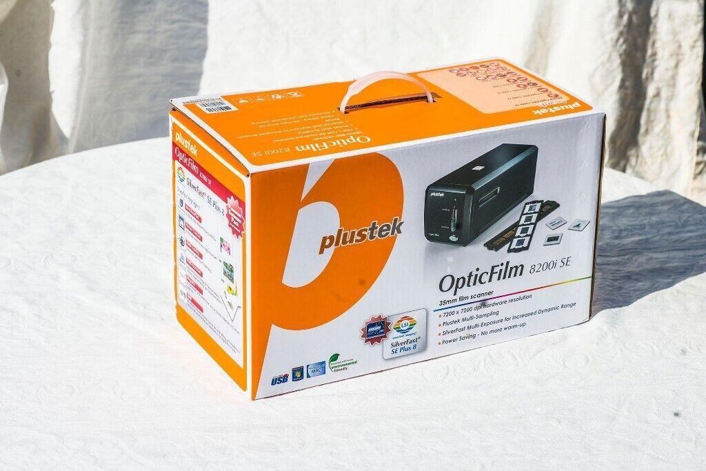 Plustek OpticFilm 8200i Slide & Film Scanner - High quality scanner to  digitise your old films | in Plymouth, Devon | Gumtree