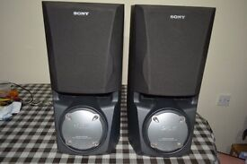 3 Way Sony Large Speakers SS-XB60,Super Woofer integrated System.