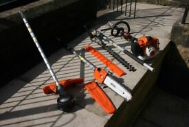 STIHL 2016 KM94 RC COMBI SYSTEM WITH ATTACHMENTS