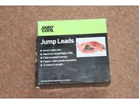 Auto Care jump leads - NEW - Never used