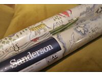 Designer Sanderson TREASURE MAP WALLPAPER - 2 ROLLS from John Lewis