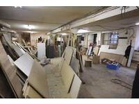 Huge 3000sqft Warehouse- perfect Art studio/workshop space