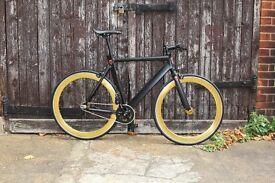 OKU CYCLES!!! Aluminium Alloy Frame Single speed road track bike fixed gear racing fixie bicycle w