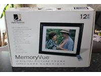 "Memoryvue 12"" Digital Photo Frame New Unopened"